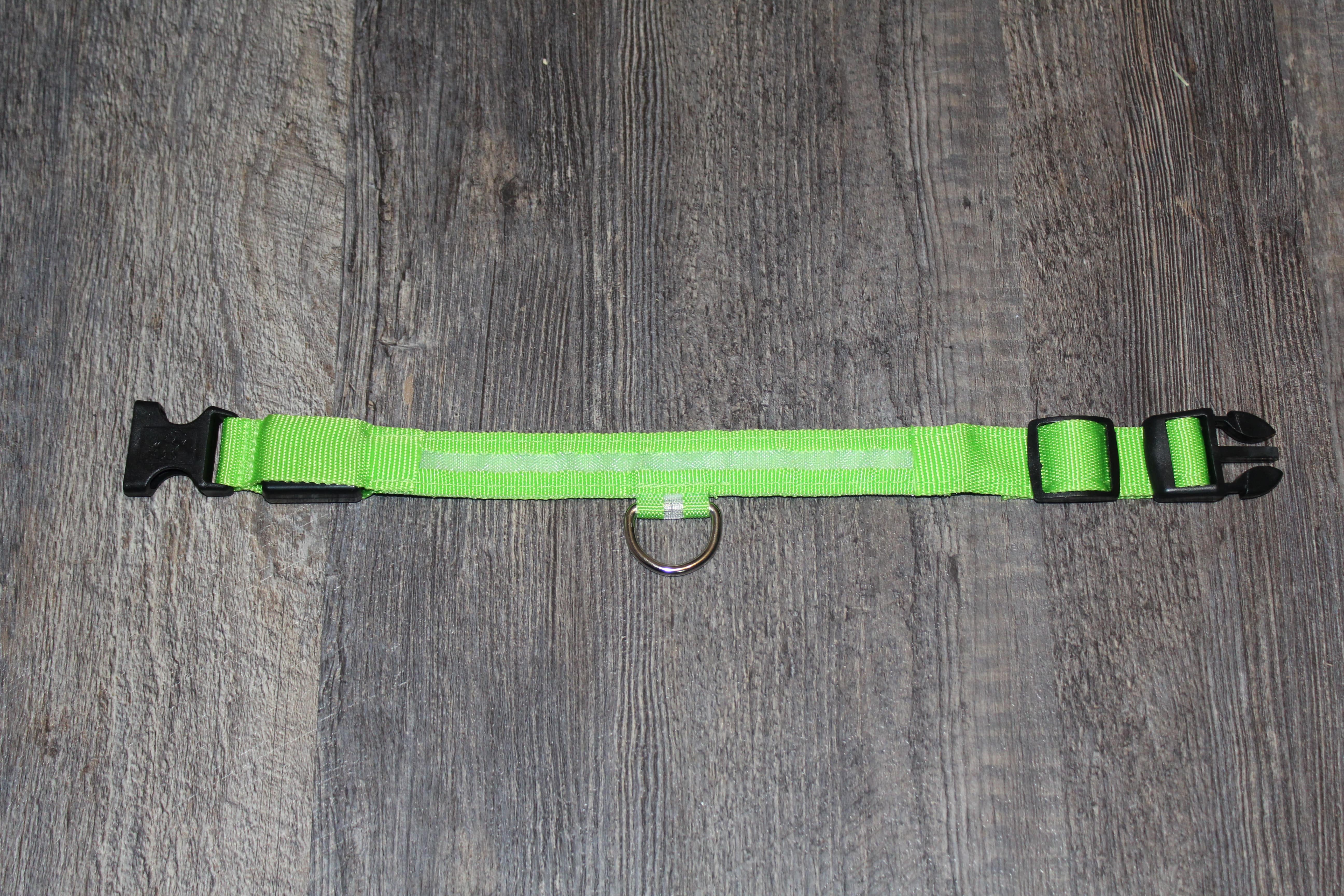 product image of a neon glow collar for dogs